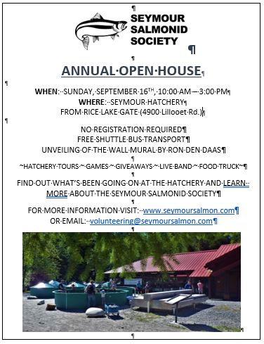 Open House Poster 2018